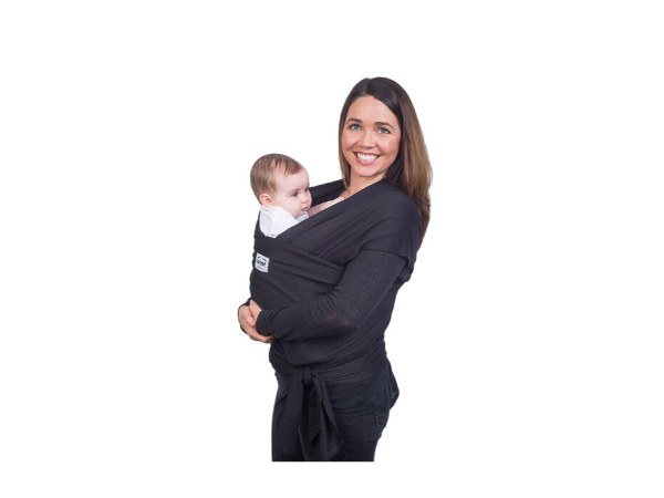 Black Baby Carrier Sling Wrap by Cozitot