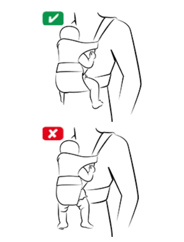 Give Baby's Hips Adequate Support