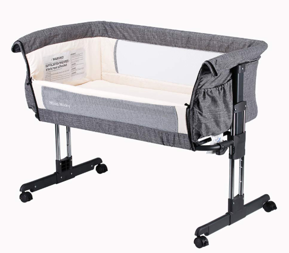 Mika Micky Bedside Sleeper Easy Folding Portable Bassinet